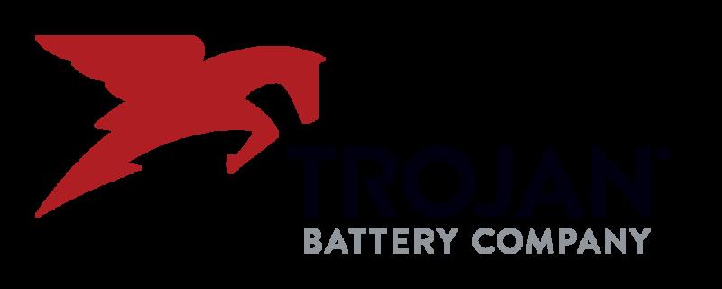 trojan battery company logo