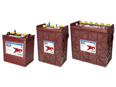 flooded solar battery premium