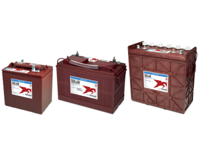 solar signature line flooded battery