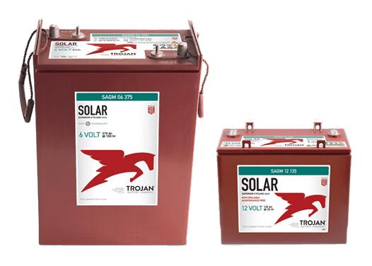 Deep-Cycle Solar AGM Batteries